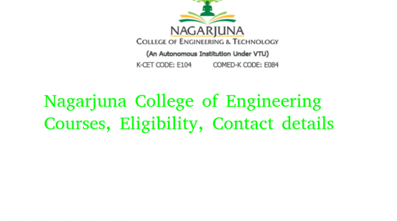 Nagarjuna College of Engineering & Technology
