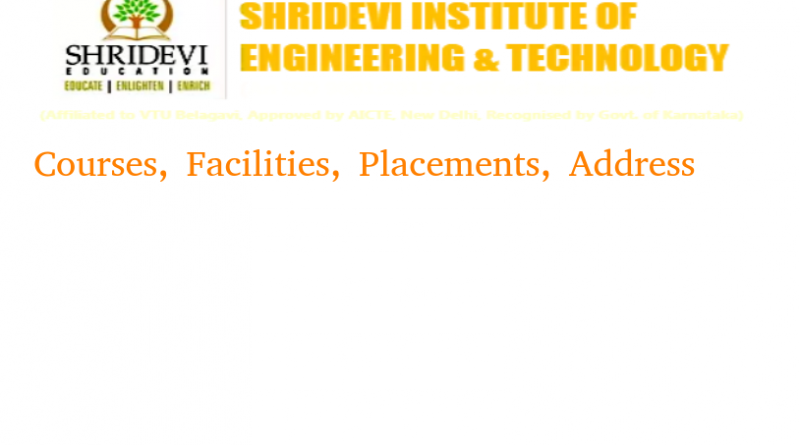 Sridevi Institute of Engineering and Technology