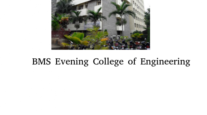 BMS Evening College of Engineering